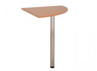 Угловая приставка для стола Альфа 61.12