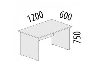 Рабочий стол Альфа 61.19 для офиса