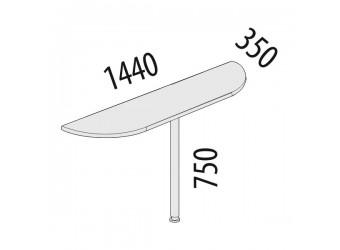 Приставка для стола Альфа 63.30
