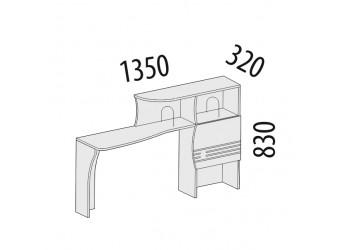 Надстройка для компьютерного стола Британия 52.18