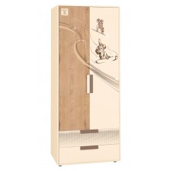 Двухстворчатый шкаф для одежды Фристайл 56.01