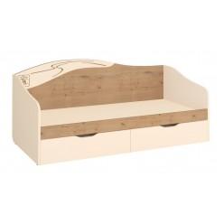 Односпальная кровать Фристайл 56.11 с выдвижными ящиками