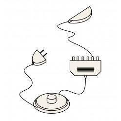 Подсветка для полок из ЛДСП Анрэкс (со светильником Square)