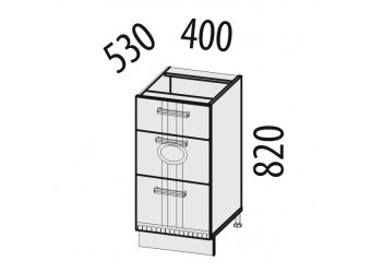 Шкаф кухонный напольный Афина 18.59