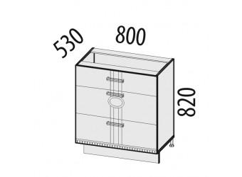 Шкаф кухонный напольный Афина 18.67