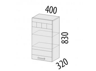 Навесной кухонный шкаф Аврора 10.03 правый