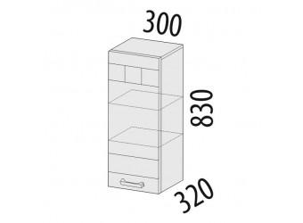 Навесной кухонный шкаф Аврора 10.07