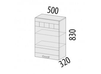 Навесной кухонный шкаф Аврора 10.10