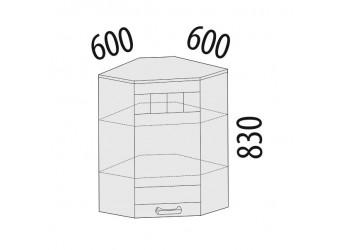 Шкаф кухонный угловой Аврора 10.20