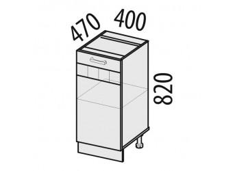 Шкаф кухонный напольный Аврора 10.54.1