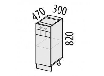 Шкаф кухонный напольный Аврора 10.55.1