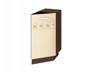 Шкаф кухонный угловой Аврора 10.64.1 правый (торцевой)