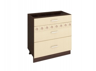 Шкаф кухонный напольный Аврора 10.67.2