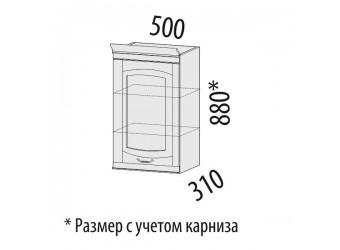 Навесной кухонный шкаф Глория 03.10