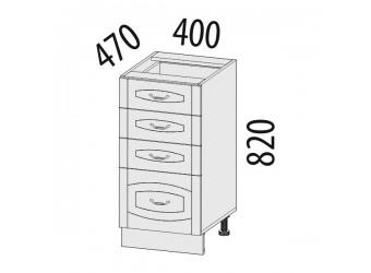 Шкаф кухонный напольный Глория 03.56.2