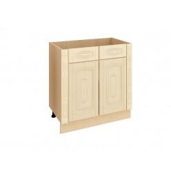 Шкаф кухонный напольный Глория 03.63.2 с колоннами