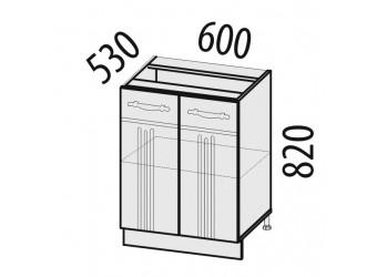 Шкаф кухонный напольный Каролина 11.58