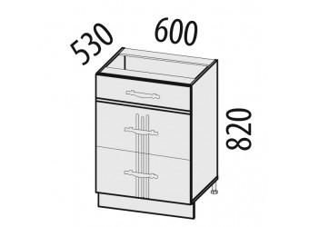 Шкаф кухонный напольный Каролина 11.66