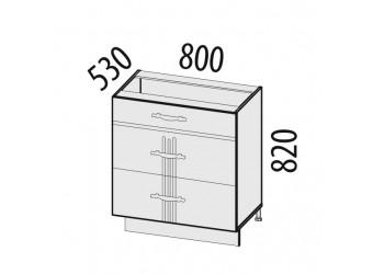 Шкаф кухонный напольный Каролина 11.67