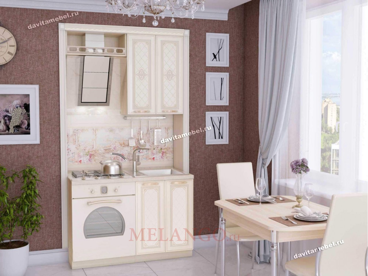 Кухонный гарнитур Милана 2