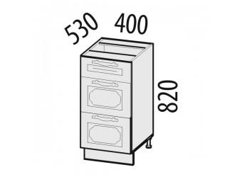 Шкаф кухонный напольный Милана 23.59