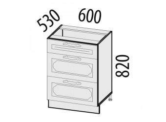 Шкаф кухонный напольный Милана 23.66