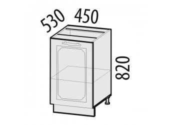 Шкаф кухонный напольный Милана 23.72