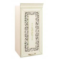 Навесной кухонный шкаф Оливия 71.23 с решеткой