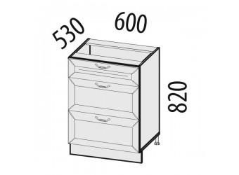 Шкаф кухонный напольный Оливия 71.66
