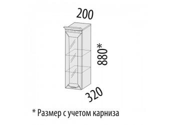 Навесной кухонный шкаф Оливия 72.19