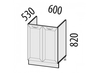Шкаф под мойку Оливия 72.50