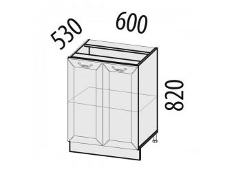 Шкаф кухонный напольный Оливия 72.58