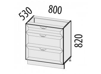 Шкаф кухонный напольный Оливия 72.67