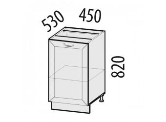 Шкаф кухонный напольный Оливия 72.72