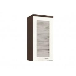 Шкаф-витрина кухонный навесной Оранж 09.04
