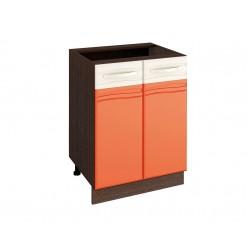 Шкаф кухонный напольный Оранж 09.58
