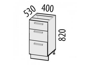 Шкаф кухонный напольный Оранж 09.59