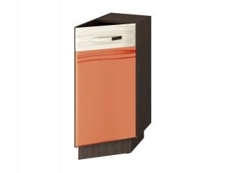Шкаф кухонный угловой Оранж 09.64 правый (торцевой)
