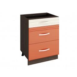 Шкаф кухонный напольный Оранж 09.66