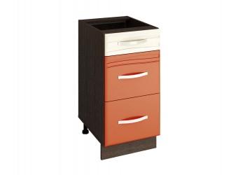 Шкаф кухонный напольный Оранж 09.90 (с системой плавного закрывания)