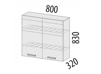 Шкаф-сушка кухонный Палермо 08.02.1