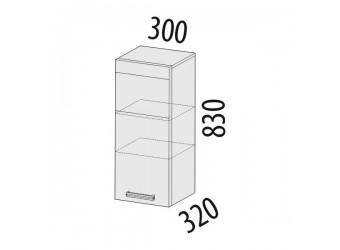Навесной кухонный шкаф Палермо 08.07