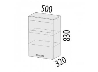 Навесной кухонный шкаф Палермо 08.10