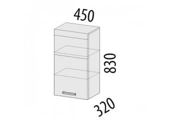 Навесной кухонный шкаф Палермо 08.22