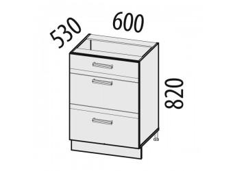Шкаф кухонный напольный Палермо 08.91 (с системой плавного закрывания)