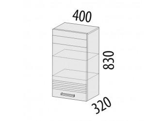 Навесной кухонный шкаф Рио 16.05 левый