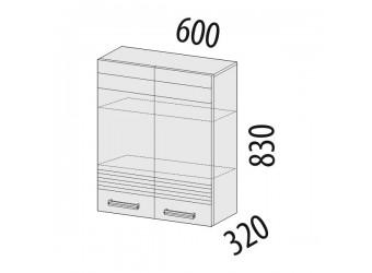 Навесной кухонный шкаф Рио 16.06