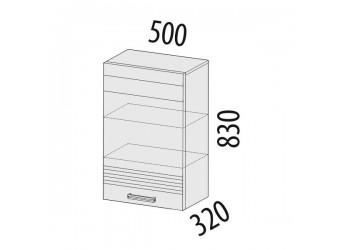 Навесной кухонный шкаф Рио 16.10