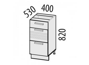 Шкаф кухонный напольный Рио 16.59