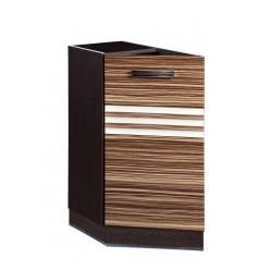 Шкаф кухонный угловой Рио 16.65 левый (торцевой)